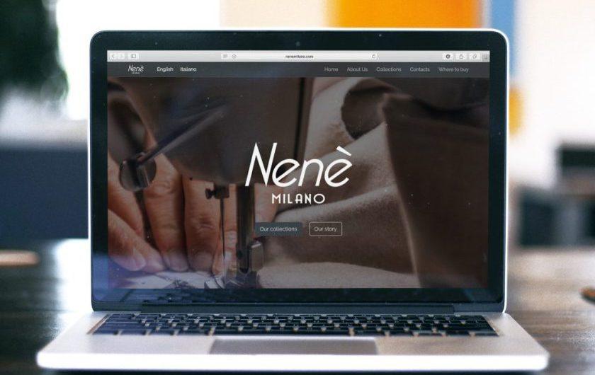 Nenè Milano sito web
